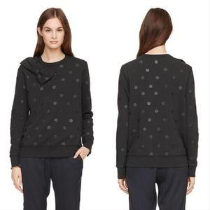 Kate Spade Glitter Dot Bow Sweatshirt/Sweater